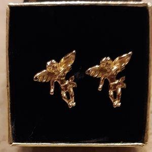 VINTAGE PARK LANE ANGEL EARRINGS